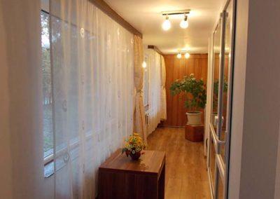 irenes hostel hallway