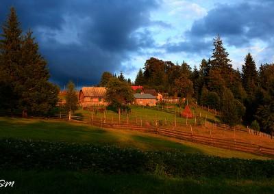 Bucovina - Autumn Landscape