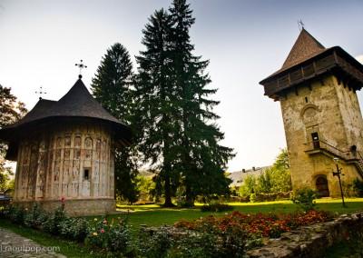 Humor Monastery, Bucovina, Romania.