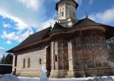 Moldovita Monastery - Painted Monasteries (1)