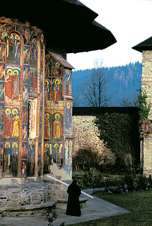 Moldovita Monastery - Painted Monasteries (11)