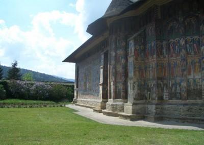 Moldovita Monastery - Painted Monasteries (2)