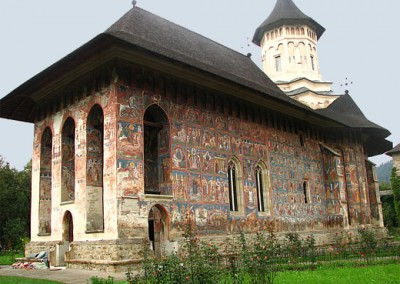Moldovita Monastery - Painted Monasteries (3)