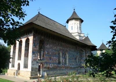 Moldovita Monastery - Painted Monasteries (4)