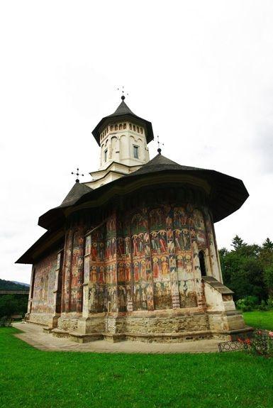 Moldovita Monastery - Painted Monasteries (5)
