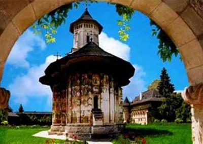 Moldovita Monastery - Painted Monasteries (8)