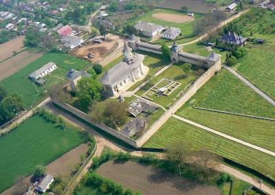 Probota Monastery - Aerial View