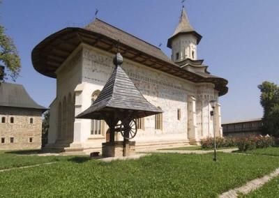 Saint Nicolas at Probota Monastery, Southern Bucovina