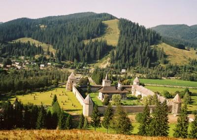 Sucevita Monastery Panorama