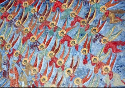 Sucevita Monastery - The Ladder of Virtutes