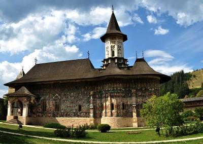Sucevita Monastery - S View