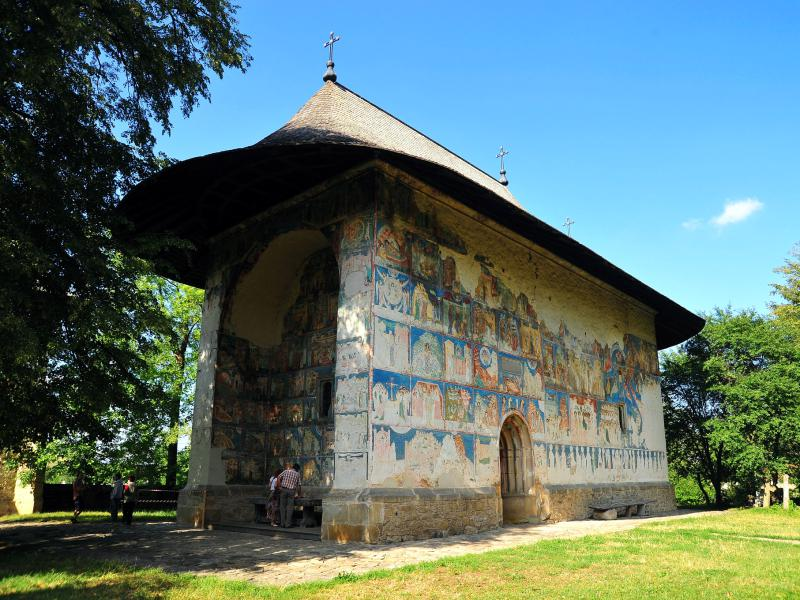 Arbore Painted Church - Bucovina