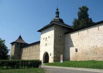 Probota Monastery Entrance