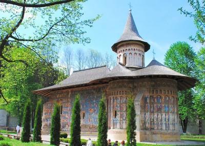 Voronet Monastery - SE View